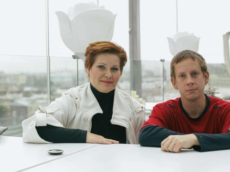 Ольга и Николай.Фото предоставлено благотворительным фондом AdVita