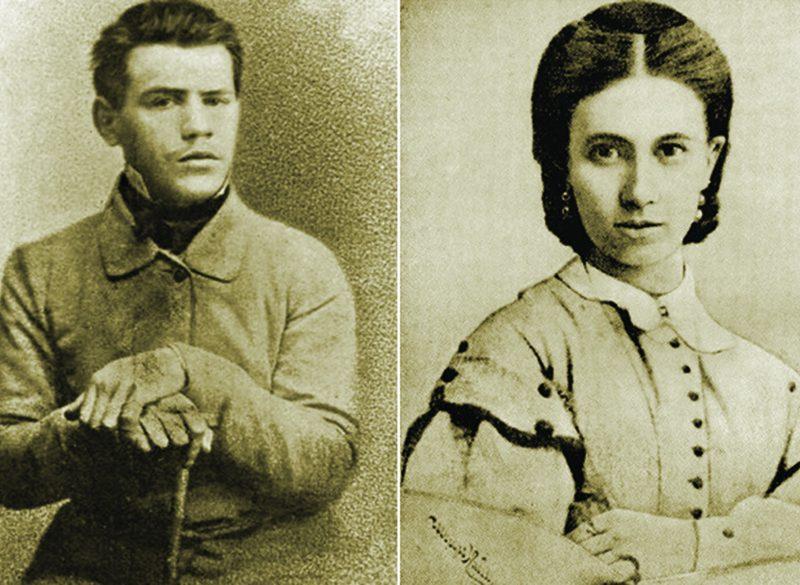 Лев Толстой и Софья Берс