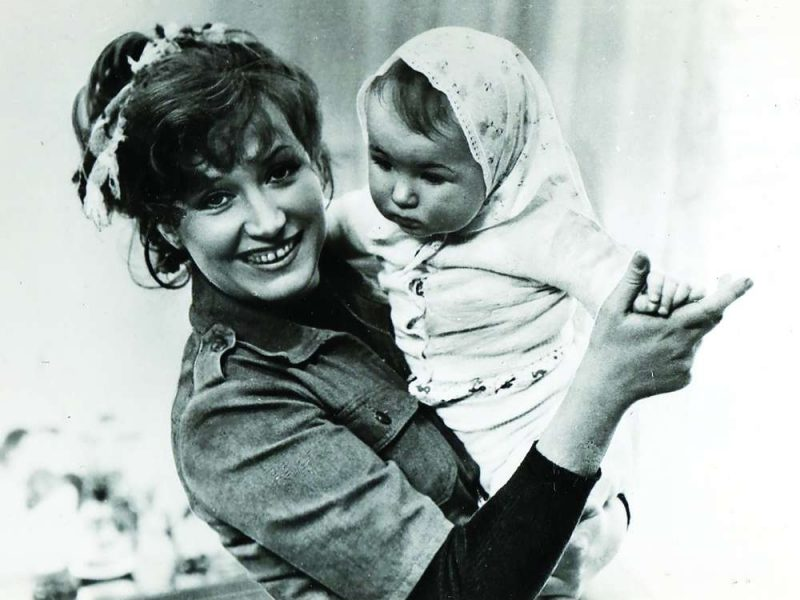 А.Пугачева с дочерью Кристиной
