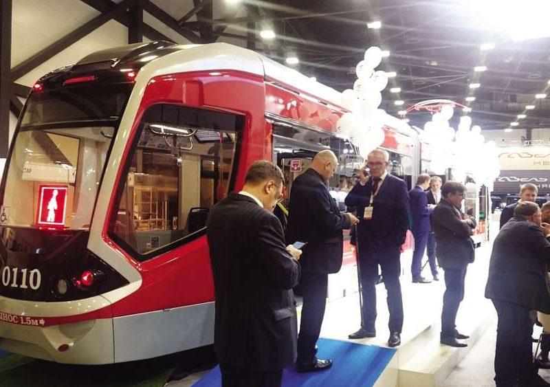 Новый петербургский трамвай, пока не водородный