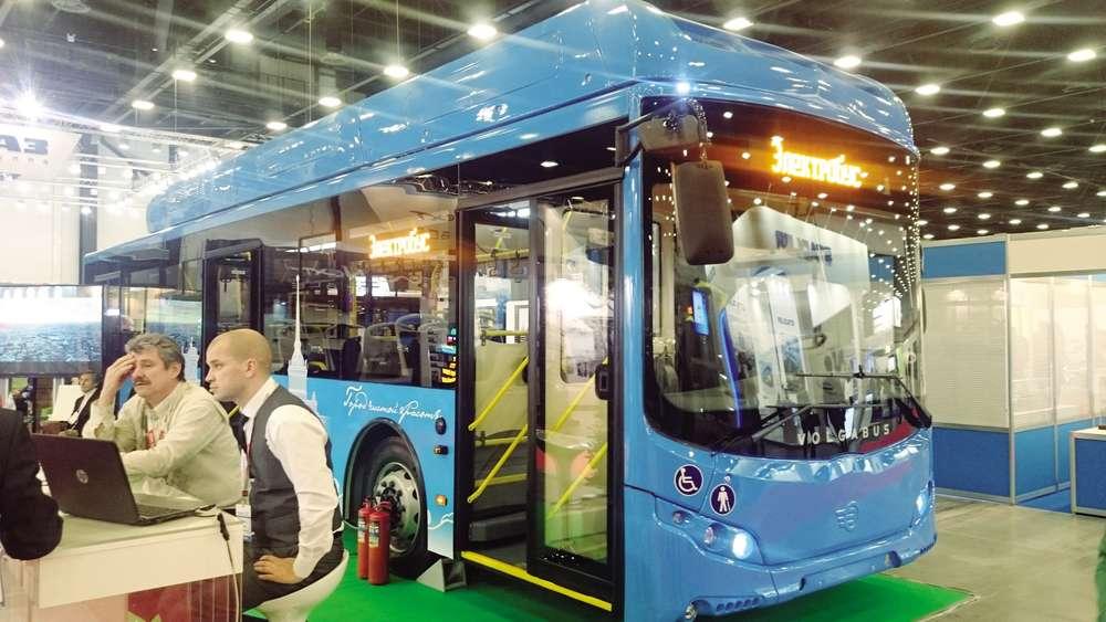 После выставки этот электробус выйдет на маршрут